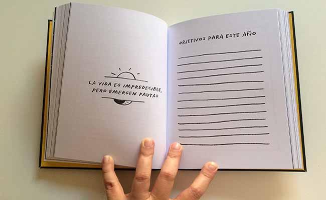 Lleva un diario con tus metas
