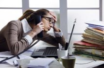 Causas del estrés laboral