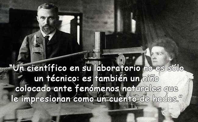 Citas de Marie Curie