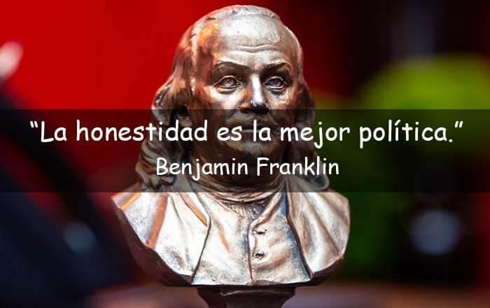 frases de Benjamin Franklin