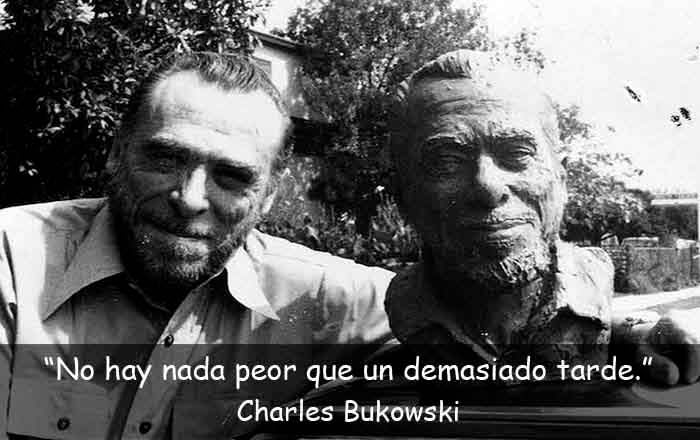 frases de Charles Bukowski