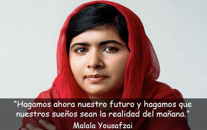 frases de Malala Yousafzai
