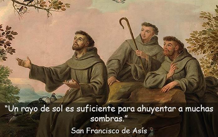 frases de San Francisco de Asís