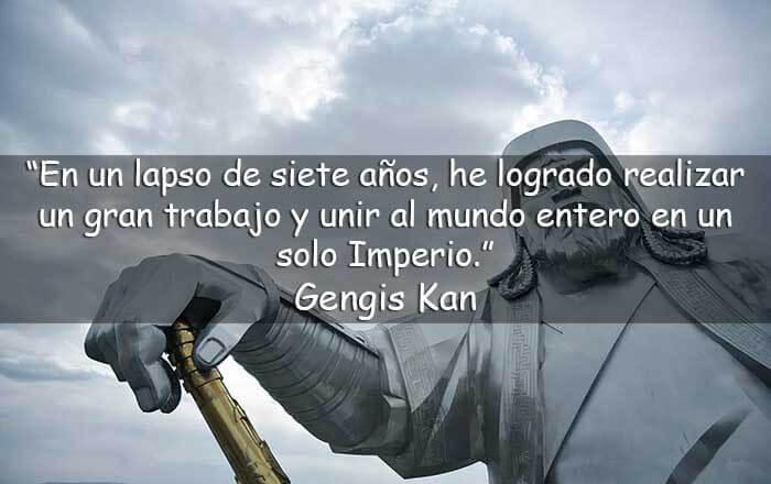frases de Gengis Kan