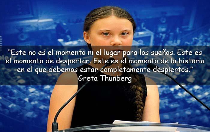 frases de Greta Thunberg