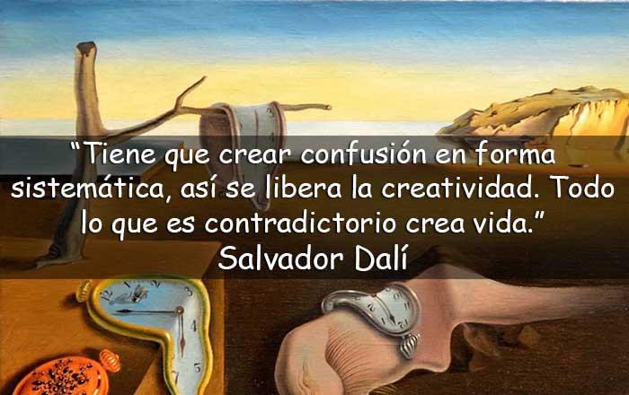 frases de Salvador Dalí