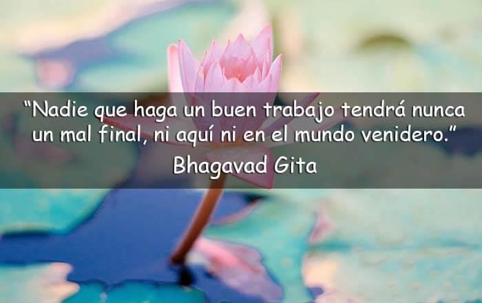 frases del Bhagavad Gita