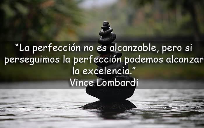 frases sobre la perfección