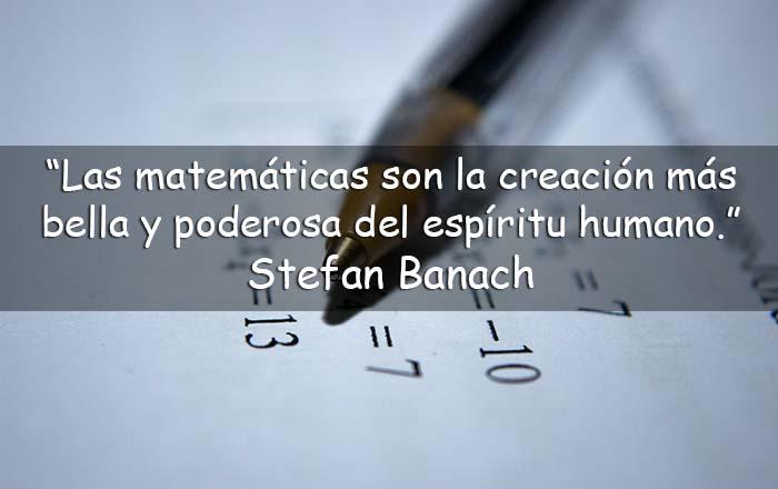 Frases sobre las matemáticas