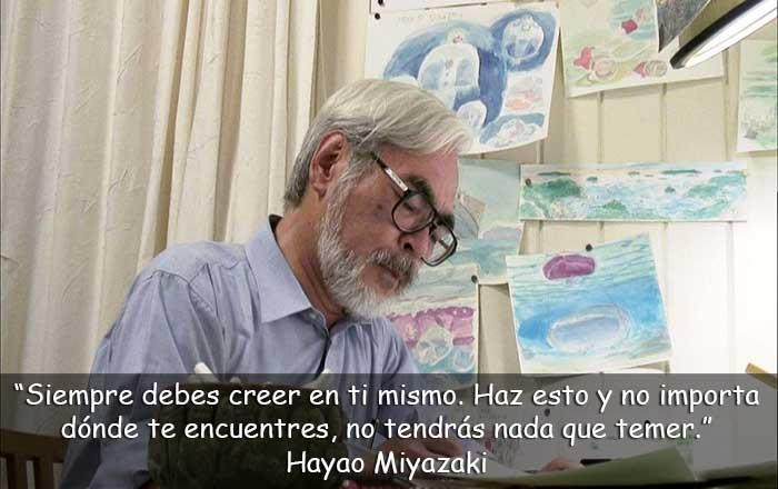 frases de Hayao Miyazaki