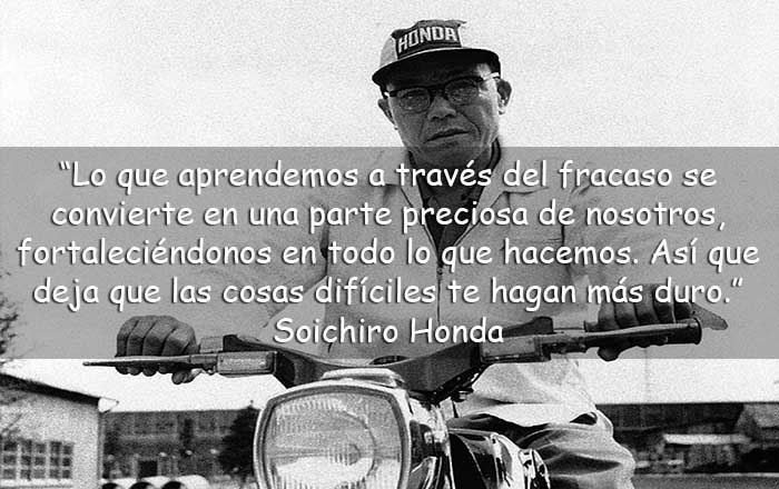 frases de Soichiro Honda