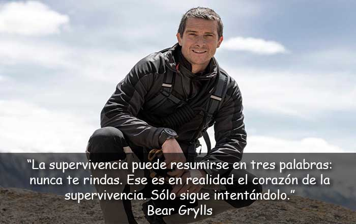 frases de Bear Grylls