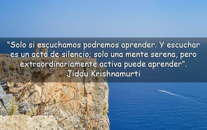 frases de Jiddu Krishnamurti