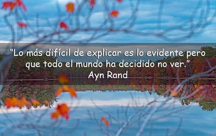 frases de Ayn Rand