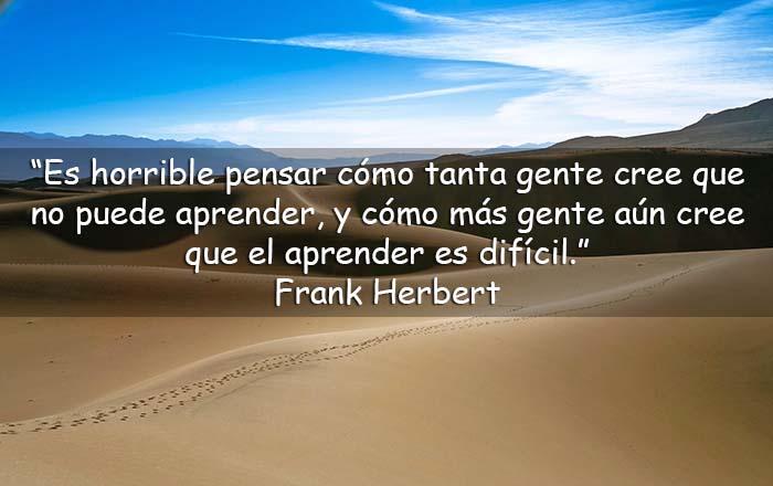 frases de Frank Herbert