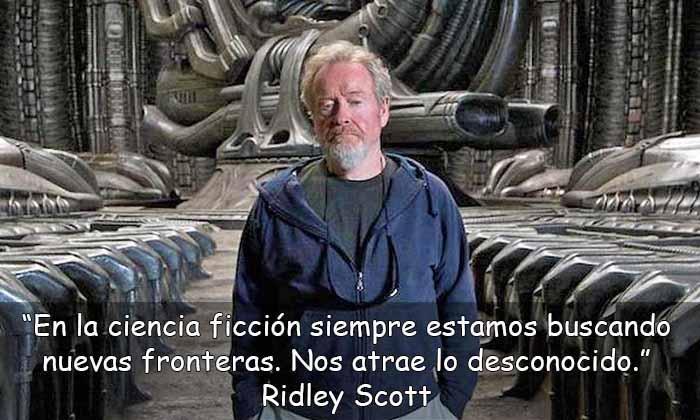 frases de Ridley Scott