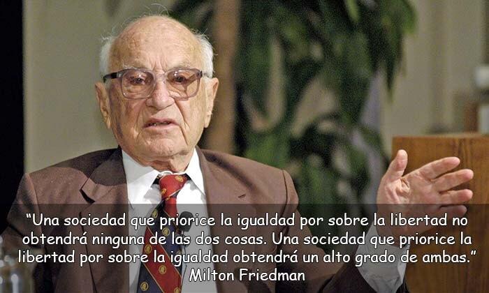 frases de Milton Friedman
