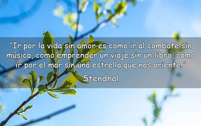 Frases de Stendhal