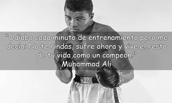 frases de Muhammad Ali